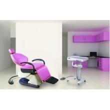Стоматологическое кресло с тележкой для доставки
