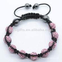 2012 Joya leather bracelet with crystal ball