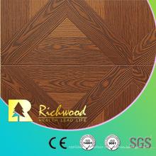 12.3mm AC4 Embossed Oak Maple Wood Wooden Laminated Laminate Flooring