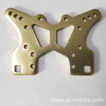 0.5mm Aluminum Sheet Metal Parts with Titanium Anodizing
