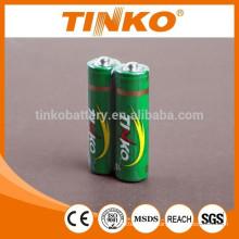 AA Heavy Duty batterie R6 OEM welcoemd 4pcs/shrink 60pcs/dzn shenzhen TINKO batterie