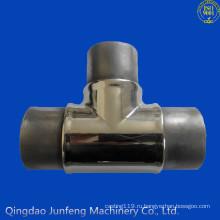 Изготовленный на заказ штуцер трубы нержавеющей стали, штуцер трубы, штуцер стальной трубы