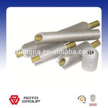 Tube à ailettes en aluminium et en acier, tube à ailettes en cuivre