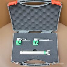 Волоконно-оптический ларингоскоп с 5 многоразовыми лезвиями