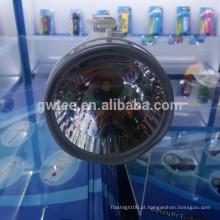 Brilho portátil recarregável LED caça inundação luz com sidelight