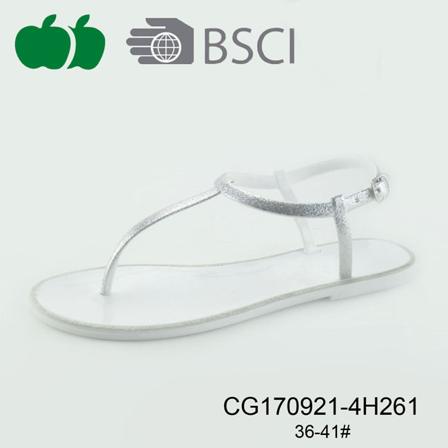 ladies pvc jelly sandal