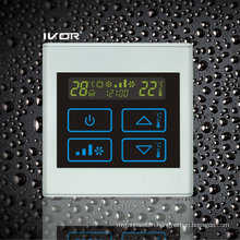 2-Pipe Air-Conditioner Thermostat Touch Switch in Plastic Frame (SK-AC2300T-2P)
