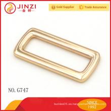 Hebilla de correa ajustable de aleación de zinc de alta calidad