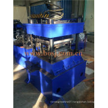 Steel Material Supermarket Goods Display Back Hole Roll Forming Production Equipment Dubai