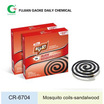 Bobinas de Mosquito (Sandal Wood Fragrance Added)