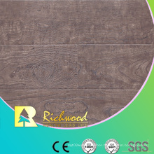 Commercial 12.3mm High Gloss Maple Waxed Edged Laminate Floor