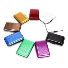 Fashion Mini Aluminum Card Wallet (SR6438)