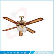 """Unitedstar 52 """"ventilateur de plafond d'éclairage de décoration (DCF-5B3L) avec CE / RoHS"""