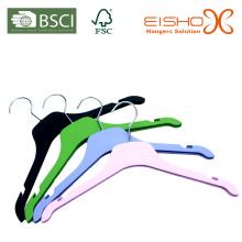 Rubber Coated Plastic Hanger for Shirt