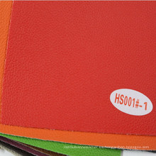 Tela al por mayor del cuero de imitación para el coche y los muebles (HS001 #)