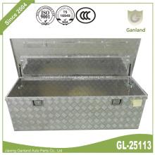 Boîte à outils à porte simple en aluminium Diamond Plate