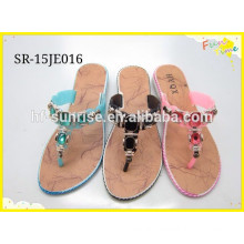 2015 Ladies new styles with flat slipper shoes