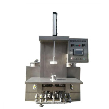 single head of small beer keg filler and washer machine