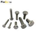 High Strength Hardware Fastener Stainless Steel Hex Bolts