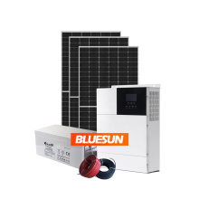 BLUESUN single phase 5KW 8KW solar system off grid 10KW for home use