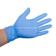 Gants jetables en latex de nitrile de protection de sécurité en gros