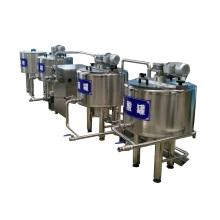 Linha de processamento de iogurte lácteo em pequena escala