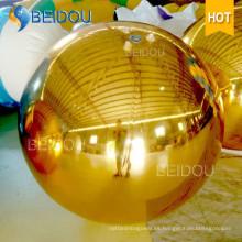 Bola de Espejo de Navidad para Eventos Mini Esfera de Bola de Espejo Inflable para Disco