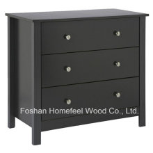 Meuble de chambre en bois 3 tiroirs Coffre (HC13)