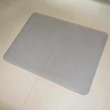 PVC home clear ghế mat