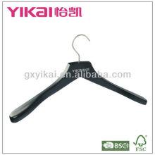 2013 New Style Matted black wooden Coat hanger