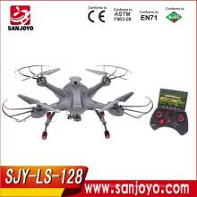 SKY Hunter 2.4G 4CH 6-axe Gyro en temps réel sans tête RC FPV Quadcopter Drone-gris SJY-LS-128