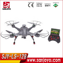 Gyroscope upgrade version 2.4G 4CH 6-Axis Gyro Real-time Headless RC FPV Quadcopter Drone-SJY-LS-128