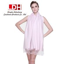 novo estilo koral de lã lenço feminino inverno cor pura imitação longa caxemira xale colar homens estudantes cachecol quente
