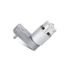 Low speed 1/240 rpm dc worm reduction gear motor for automatic sliding door