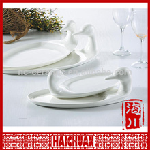 White porcelain lace plate bakeware plate                                                                         Quality Choice