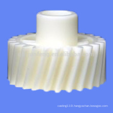 Customized plastic helical gear