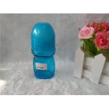 Bouteille de parfum en verre de 50 ml avec bouchon de couleur