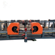Rebar bending center vertical rebar double bender