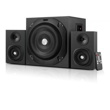 haut-parleurs multimédia 2.1 avec Bluetooth/USB/SD/FM