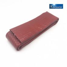 лежал оранжевый 3 бар ПВХ слива лейфлеты шланга 3 дюйма лежать полива шланг