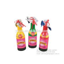 Bouteille de Champagne colorée de confettis de Mylar de polygone pour le mariage