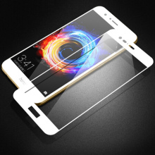 HD White Tempered Glass voor Huawei Honor V9