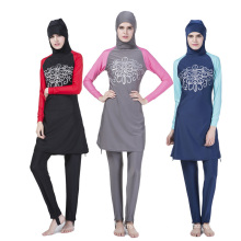 Latest Muslim Islamic wholesale custom hijab scarf muslim women swimwear