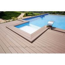 Solid WPC Composite Decking Boards 140mm X 25mm Intertek Tested