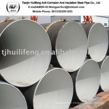 Doublure en ciment intérieur Tuyau en acier / ciment Mortier Doublage / tuyau en acier avec ciment