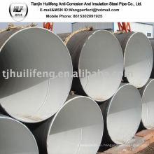 Внутренняя цементная облицовка Стальная труба / цементная облицовочная труба / стальная труба с цементной линией
