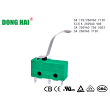 Micro Switch Suitable for Household Appliances