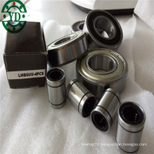 Inch Size Linear Motion Slide Bearing Lmb6uu Used for 3/8 Linear Shaft