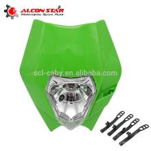 wholesale motorcycle head light of headlight for colorful motorcycle head light