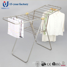 New Style All Stainless Steel Fldable Clothing Rack
